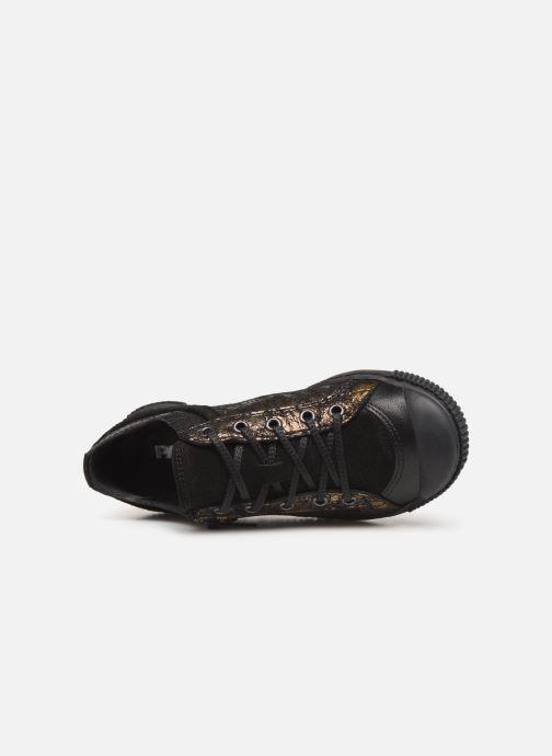 Sneaker Pataugas Bisk J4C gold/bronze ansicht von links