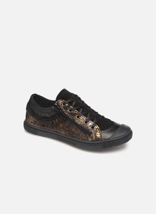 Sneakers Pataugas Bisk J4C Guld og bronze detaljeret billede af skoene