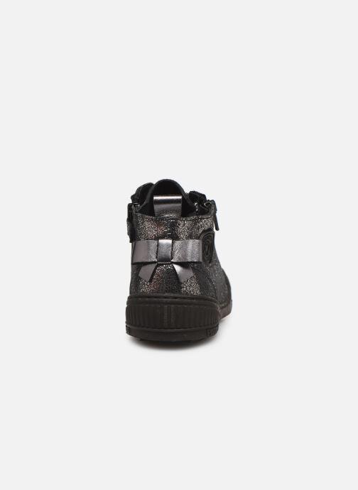 Sneakers Pataugas Rocketa J4C Argento immagine destra