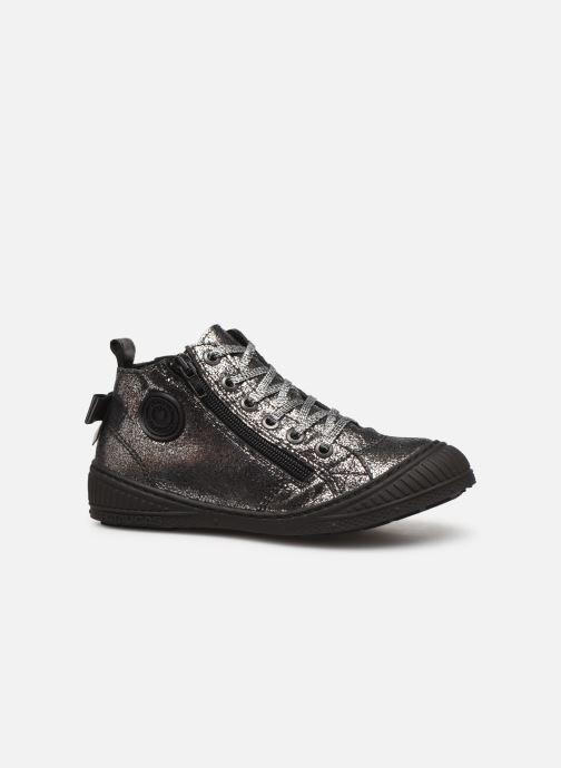 Sneakers Pataugas Rocketa J4C Argento immagine posteriore