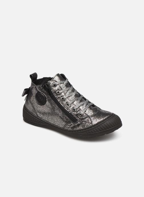 Sneakers Pataugas Rocketa J4C Argento vedi dettaglio/paio