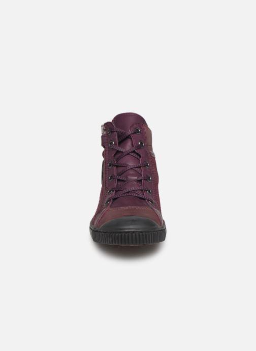Baskets Pataugas Bono/S J4C Violet vue portées chaussures