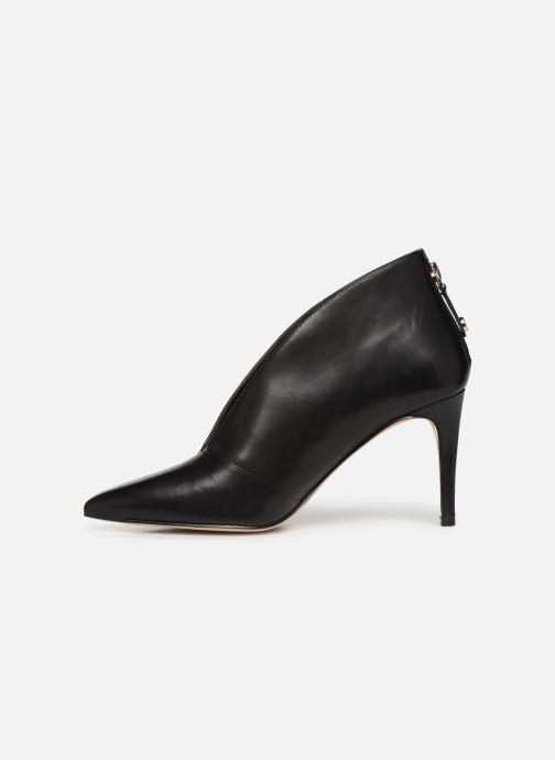 High heels Guess FL7BOALEA09 Black front view