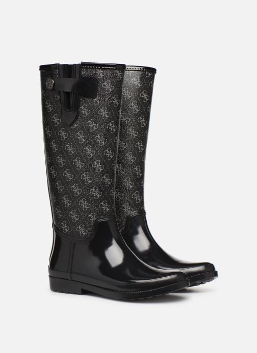 Boots & wellies Guess FL7EBEFAL11 Black 3/4 view