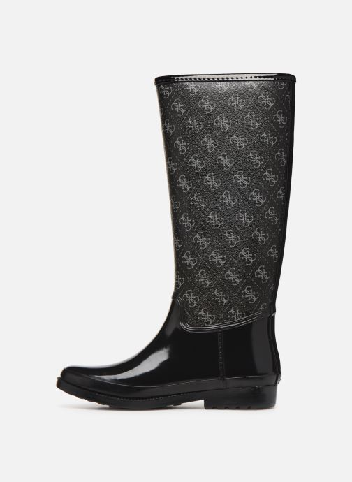 Boots & wellies Guess FL7EBEFAL11 Black front view