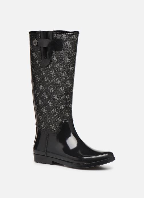 Støvler & gummistøvler Guess FL7EBEFAL11 Sort detaljeret billede af skoene