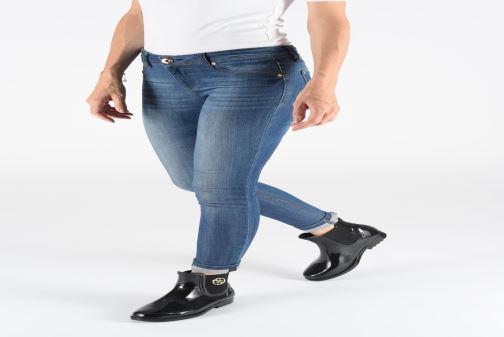 Boots en enkellaarsjes Guess FL7RK2RUB10 Zwart onder