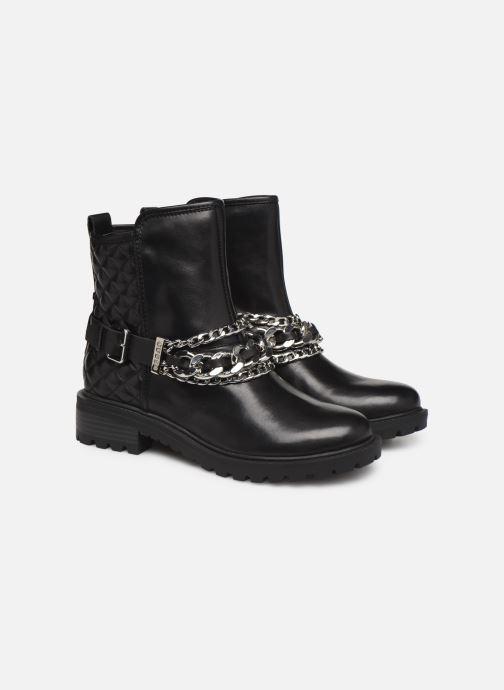 Bottines et boots Guess FL7HOLLEA10 Noir vue 3/4