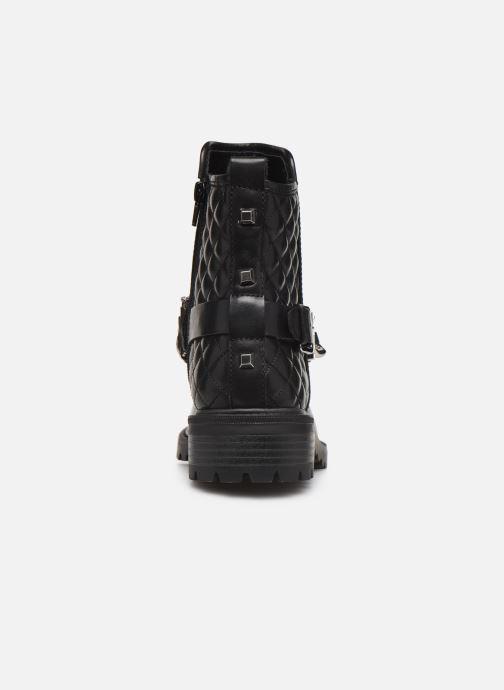 Bottines et boots Guess FL7HOLLEA10 Noir vue droite
