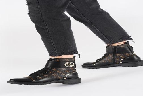 Boots en enkellaarsjes Guess FL7HT2FAL10 Zwart onder