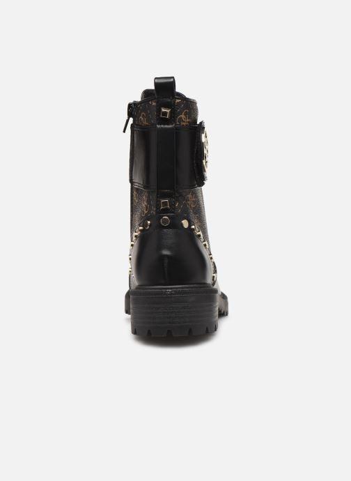 Boots en enkellaarsjes Guess FL7HT2FAL10 Zwart rechts