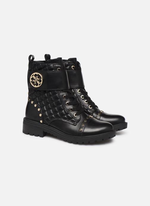 Bottines et boots Guess FL7HEALEA10 Noir vue 3/4
