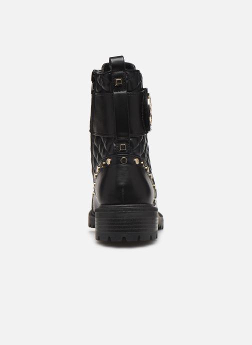 Bottines et boots Guess FL7HEALEA10 Noir vue droite