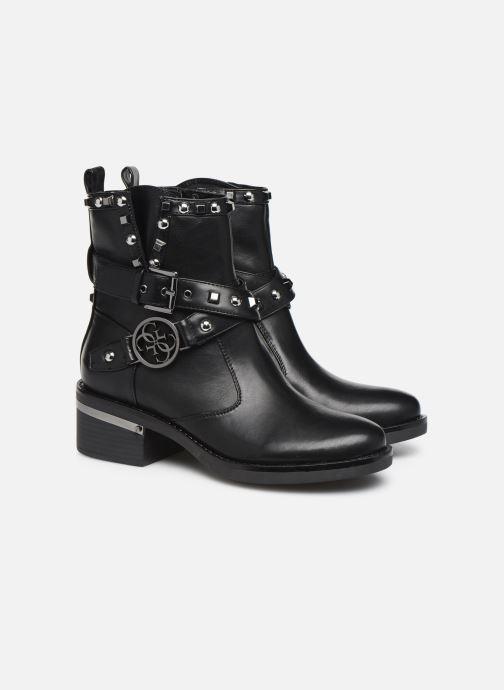 Bottines et boots Guess FL7FENELE10 Noir vue 3/4