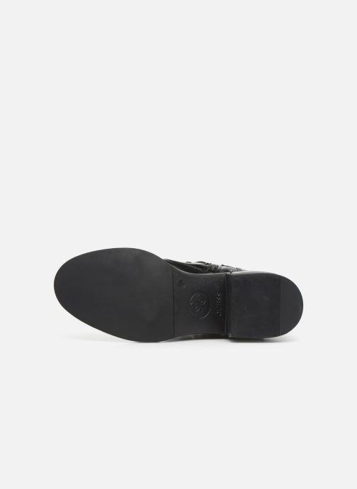 Bottines et boots Guess FL7FENELE10 Noir vue haut