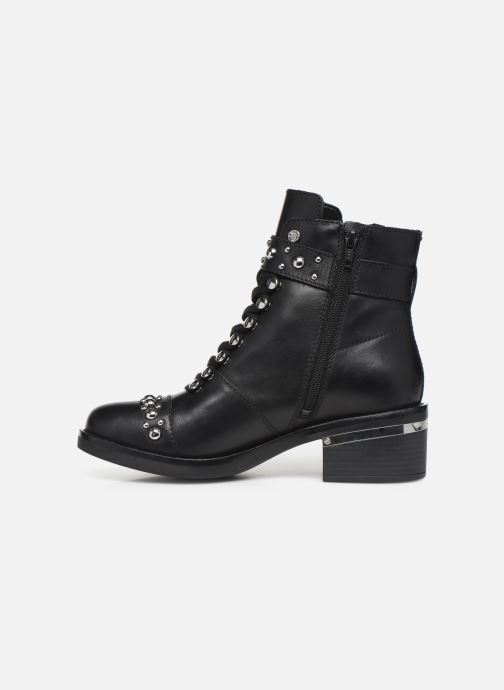 Bottines et boots Guess FL7FIALEA10 Noir vue face