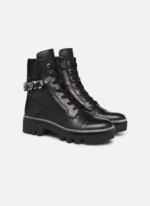 Bottines et boots Guess FL7DOMLEA10 Noir vue 3/4