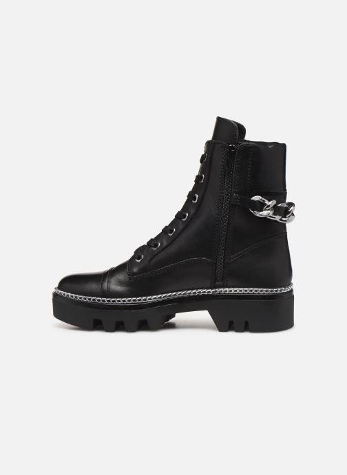 Boots en enkellaarsjes Guess FL7DOMLEA10 Zwart voorkant