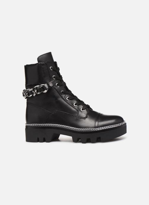 Boots en enkellaarsjes Guess FL7DOMLEA10 Zwart achterkant