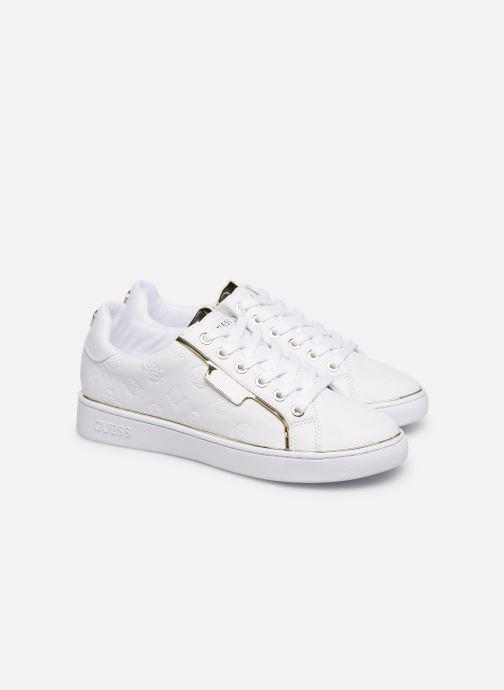 Sneakers Guess FL7BANELE12 Bianco immagine 3/4