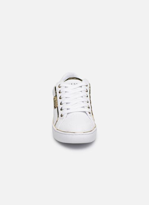 Sneakers Guess FL7BANELE12 Bianco modello indossato