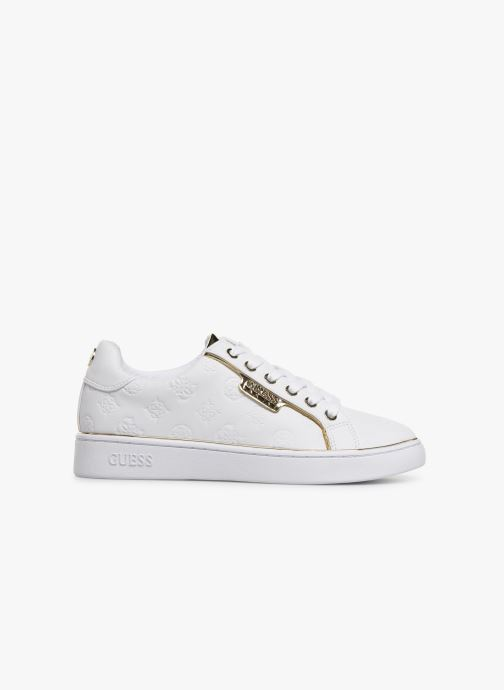 Trainers Guess FL7BANELE12 White back view