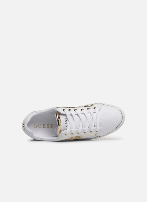Sneakers Guess FL7BANELE12 Bianco immagine sinistra