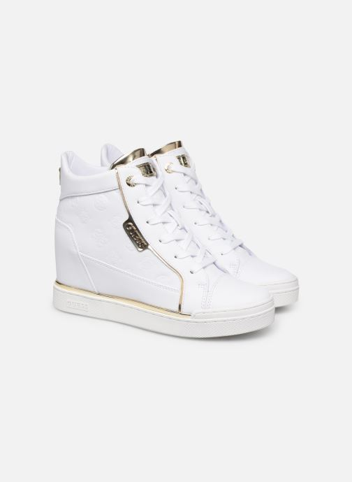 Trainers Guess FL7FABELE12 White 3/4 view