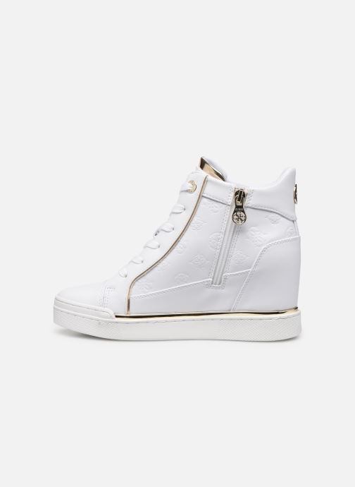 Sneakers Guess FL7FABELE12 Wit voorkant