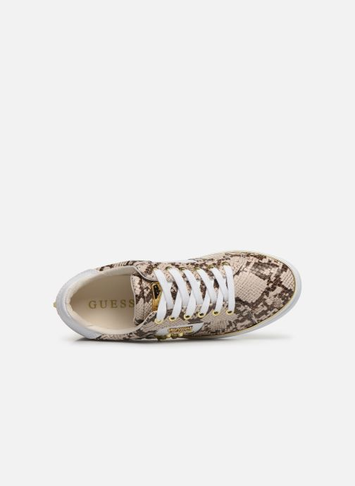 Baskets Guess FL7BRAPEL12 Beige vue gauche