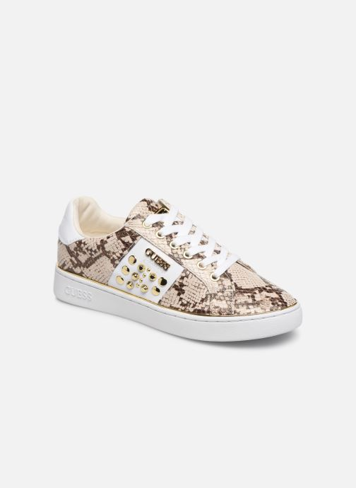 Baskets Guess FL7BRAPEL12 Beige vue détail/paire