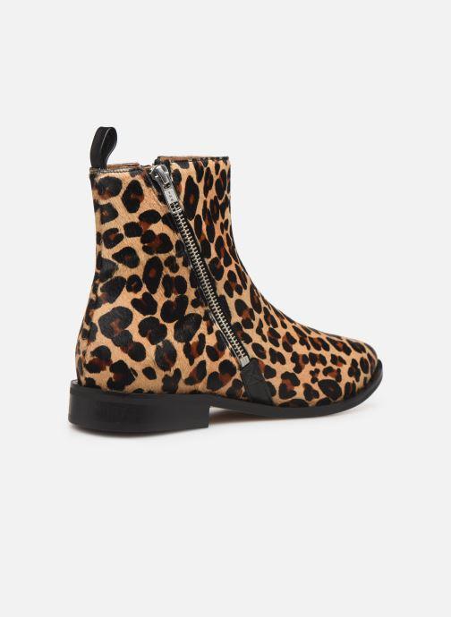 Ankelstøvler Made by SARENZA Night Rock Boots #4 Beige se forfra