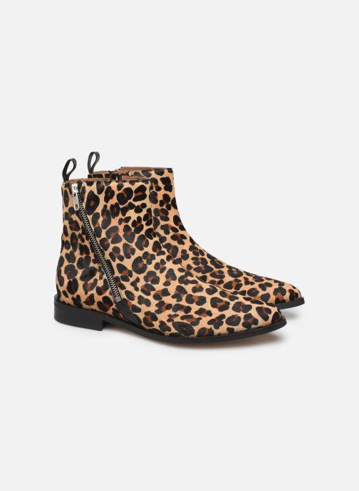 Bottines et boots Made by SARENZA Night Rock Boots #4 Beige vue derrière