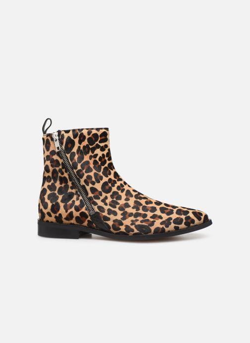 Ankelstøvler Made by SARENZA Night Rock Boots #4 Beige detaljeret billede af skoene
