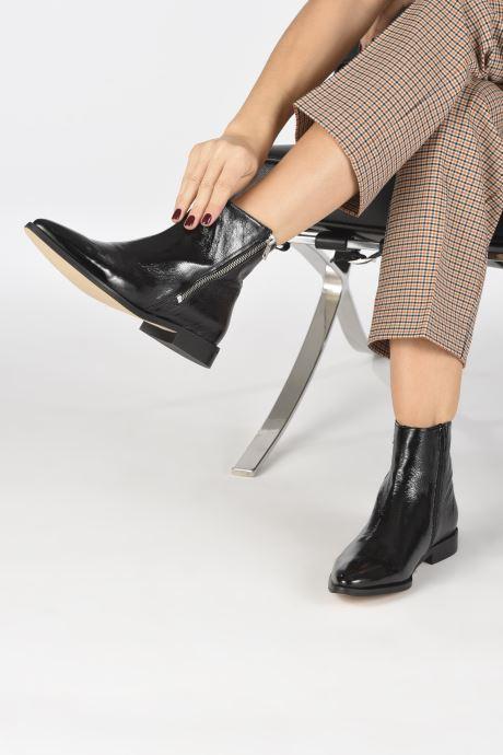 Stiefeletten & Boots Made by SARENZA Night Rock Boots #4 schwarz ansicht von unten / tasche getragen