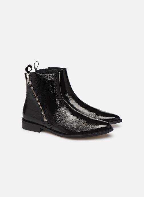 Botines  Made by SARENZA Night Rock Boots #4 Negro vistra trasera