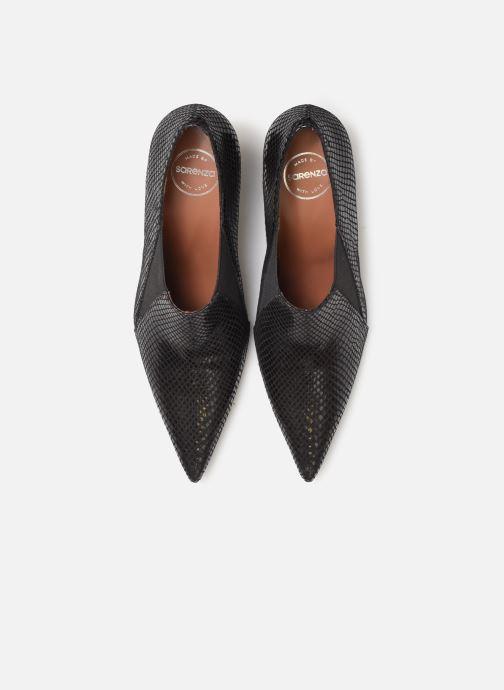 Botines  Made by SARENZA Night Rock boots #5 Negro vista del modelo