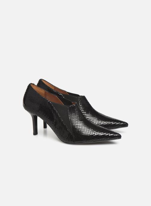 Ankelstøvler Made by SARENZA Night Rock boots #5 Sort se bagfra