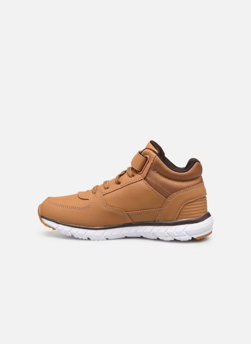 Sneaker Kangaroos Caspo JR braun ansicht von vorne