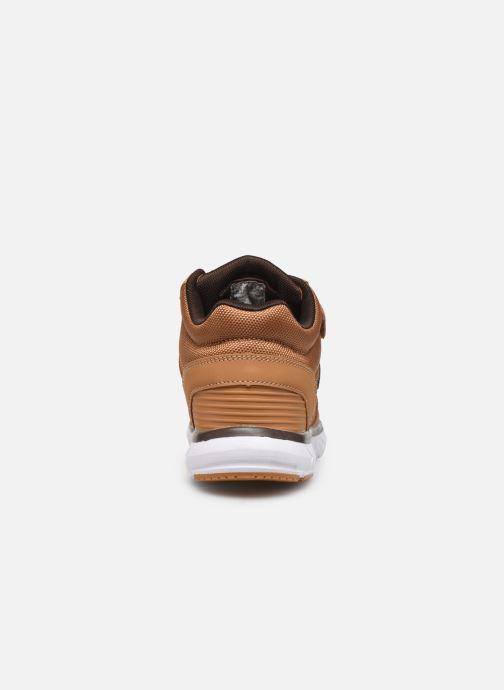 Sneaker Kangaroos Caspo JR braun ansicht von rechts