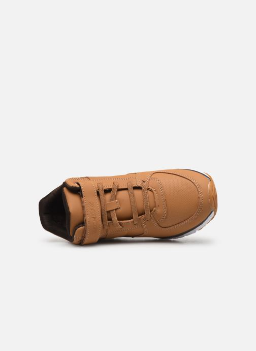 Sneaker Kangaroos Caspo JR braun ansicht von links