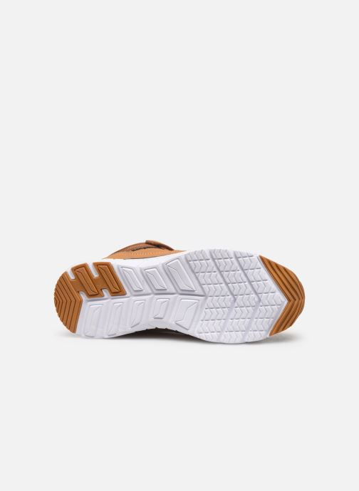 Sneaker Kangaroos Caspo JR braun ansicht von oben