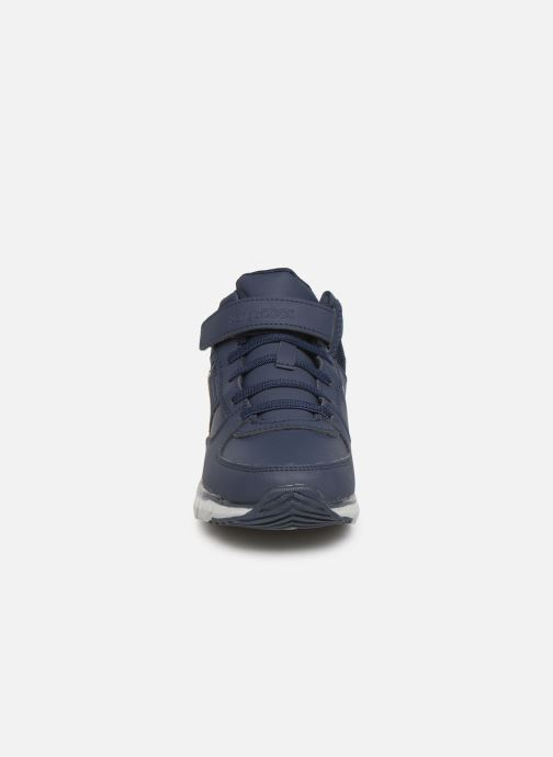 Sneaker Kangaroos Caspo JR blau schuhe getragen