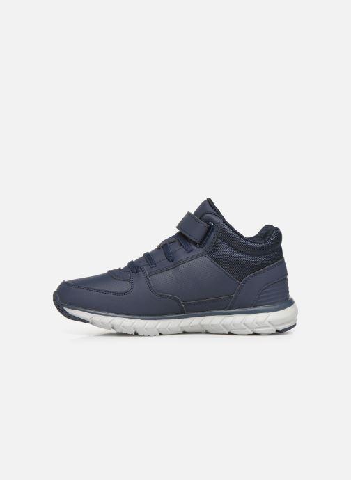Sneaker Kangaroos Caspo JR blau ansicht von vorne
