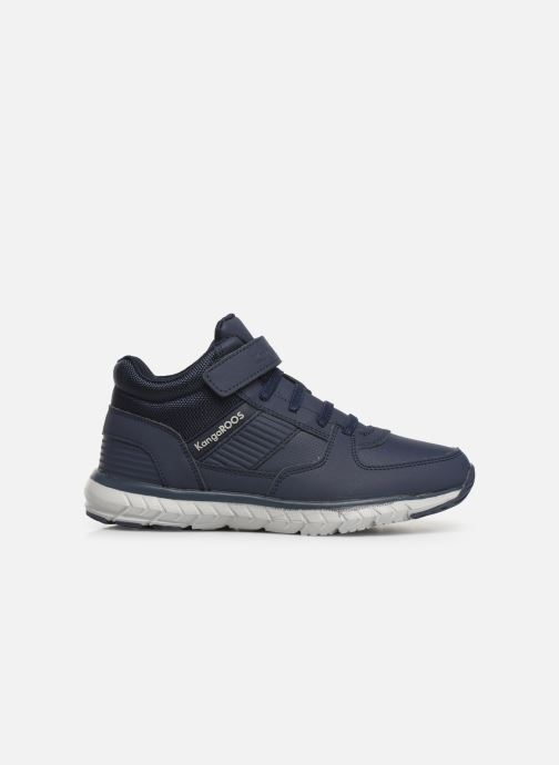 Sneakers Kangaroos Caspo JR Blå se bagfra