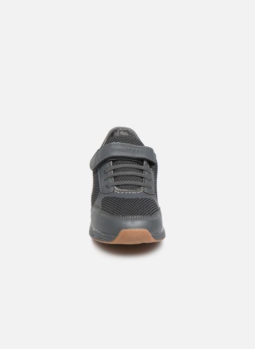 Sneaker Kangaroos Sprint EV grau schuhe getragen