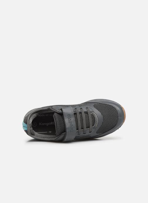 Sneaker Kangaroos Sprint EV grau ansicht von links