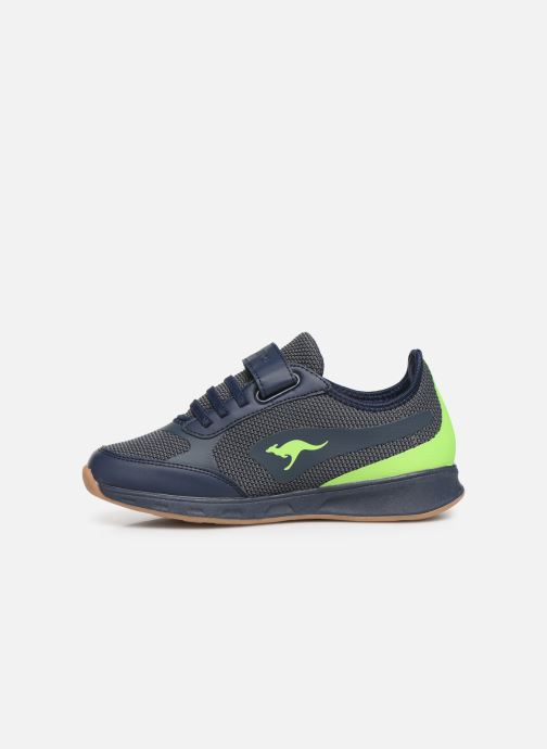 Baskets Kangaroos Sprint EV Bleu vue face