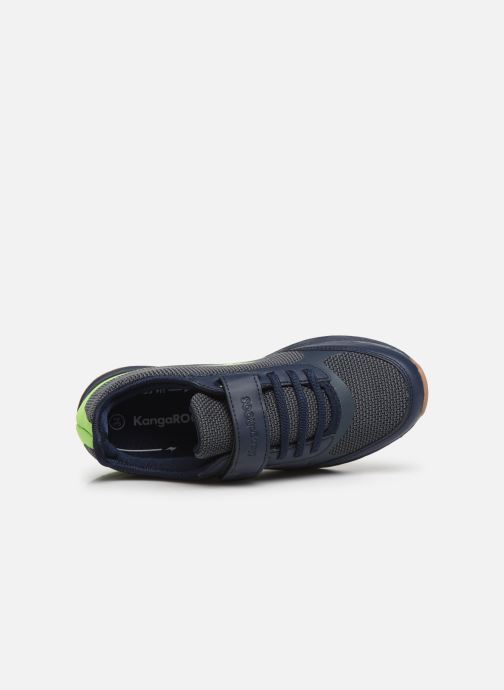 Sneaker Kangaroos Sprint EV blau ansicht von links