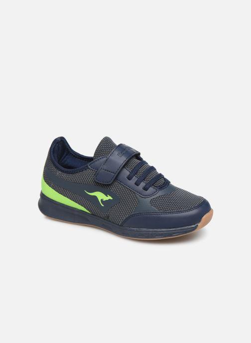 Baskets Kangaroos Sprint EV Bleu vue détail/paire